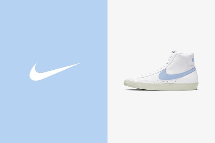 極簡純白搭配寶寶粉嫩色:Nike 這雙 Blazer 就是你在尋找的夏日球鞋!