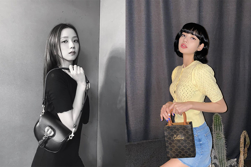 BLACKPINK Jennie Jisoo Lisa Rose Handbags Outfit