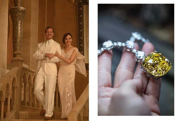 柯德莉夏萍也戴過的傳奇寶石:Gal Gadot 於《尼羅河謀殺案》戴上 The Tiffany Diamond!