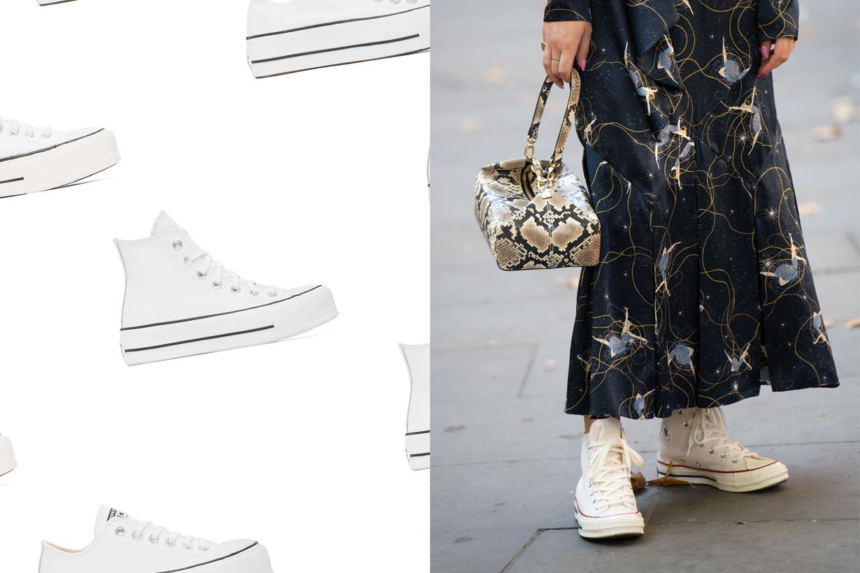 converse ssense all white sneaker platform where buy 2020