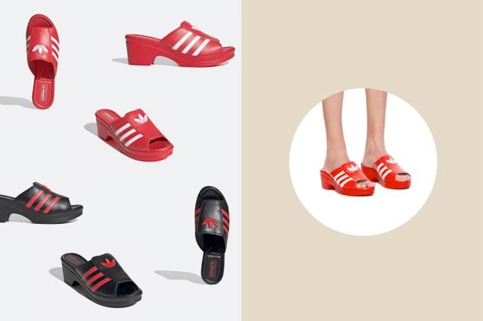 讓女生 100% 想入手:adidas Originals 把 Superstar 變成時髦的高跟涼鞋!