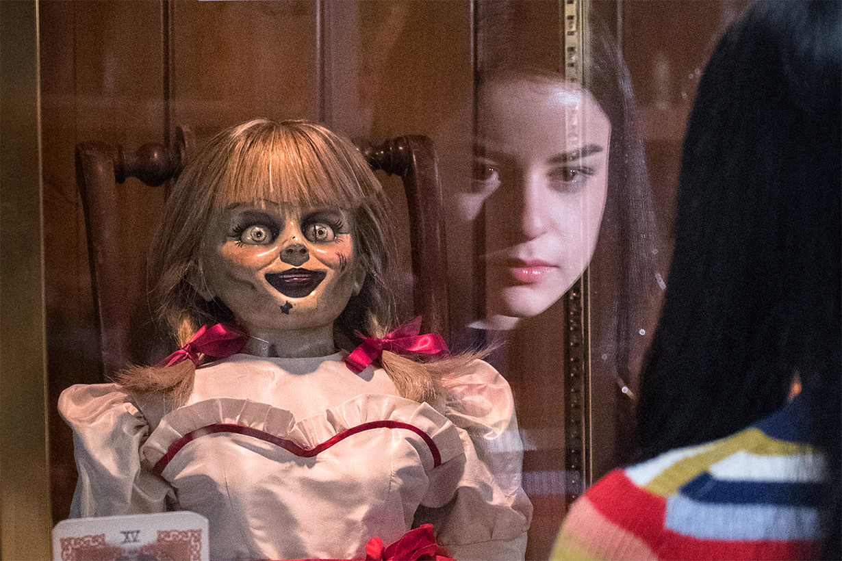 Annabelle doll escaped from the Warren's Occult Museum