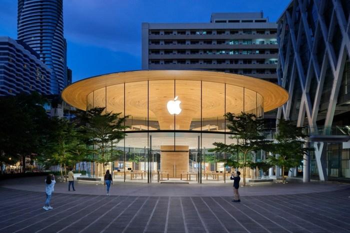 在車水馬龍的曼谷街頭:Apple 在泰國的第 2 間,也是最大的零售店已經開幕!