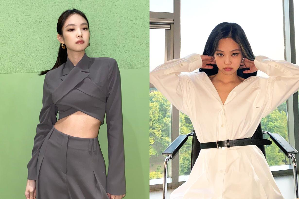 BLACKPINK Jennie Lisa Jisoo Rose Chanel Handbags Celebrities Handbags Loewe Handbags Balloon Bag Korean idols celebrities singers girl bands