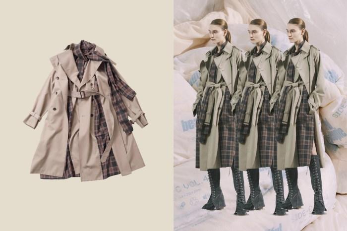 預購已經排隊:日牌 Beautiful People 推出的風衣,光一件就能有 3 種穿法!