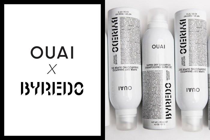一物兩用的代表:OUAI x Byredo 這款限量版乾洗髮,結合兩大品牌的精粹!