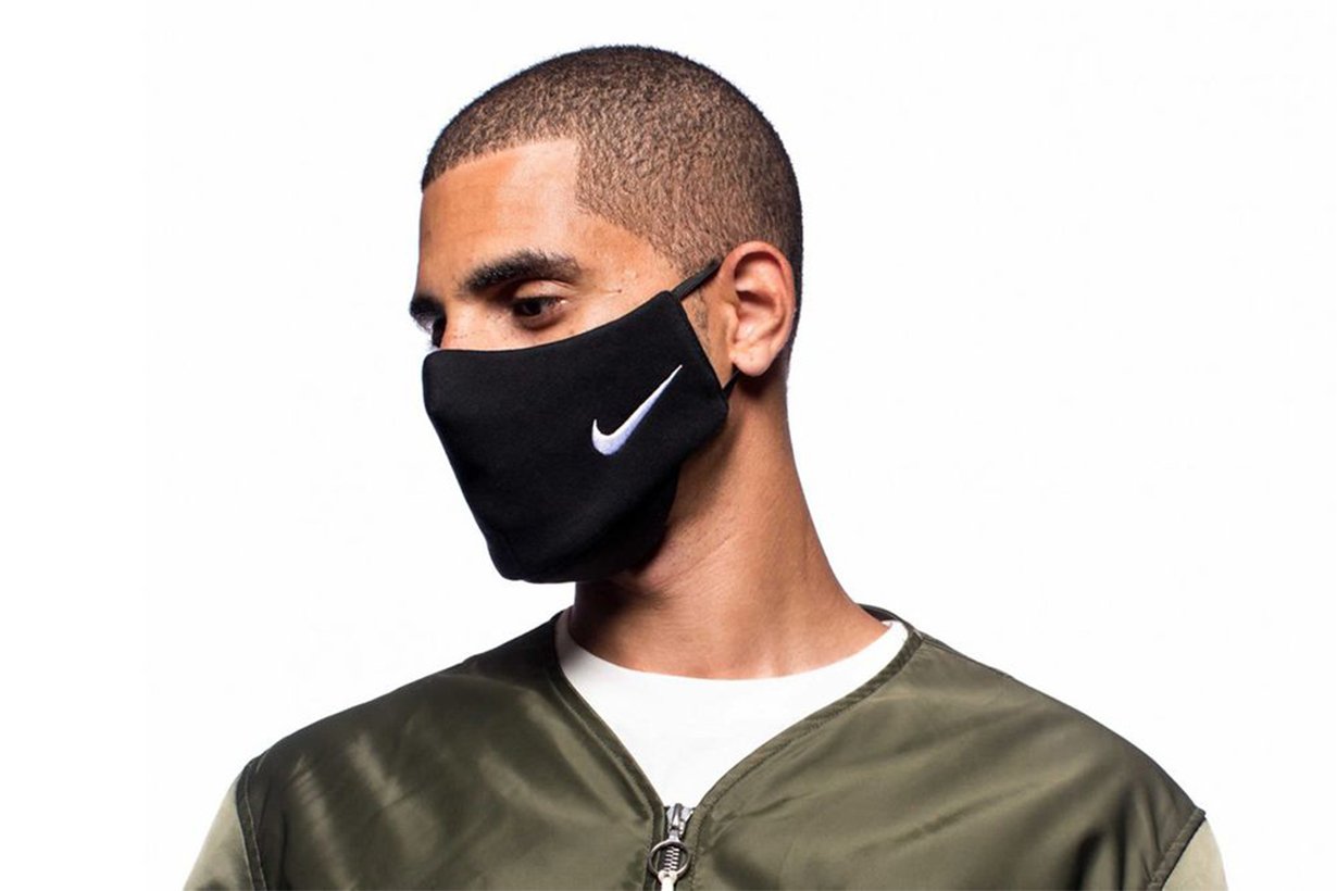 clothsurgeon nike sweatpants remnants remake mask