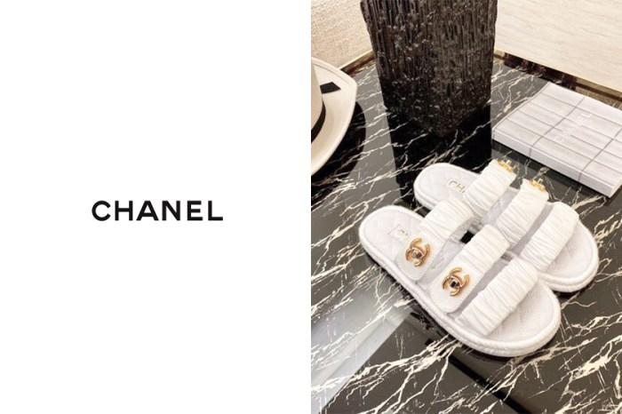 繼老爹涼鞋後,Chanel 限量版魔鬼氈拖鞋又將攻佔 IG?