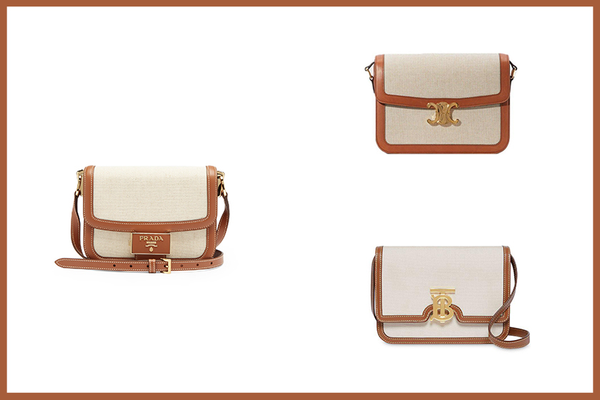Celine Prada Burberry handbags 2020 fw