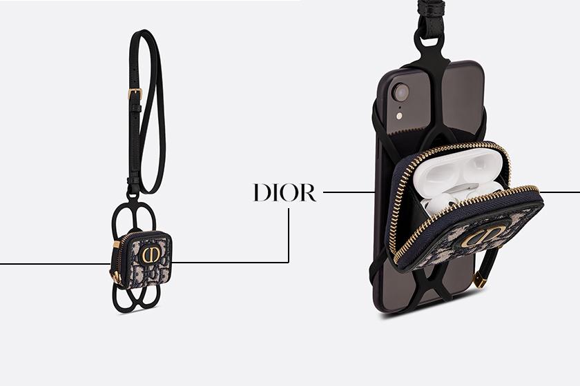 dior 30 montaigne phone holder airpods pro case accessories