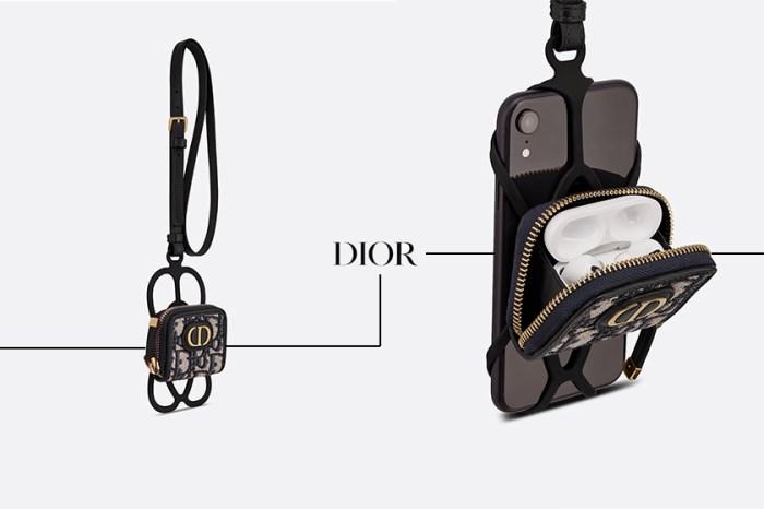 iphone + AirPods 收一起:Dior 推出 30 Montaigne 二合一保護殼!