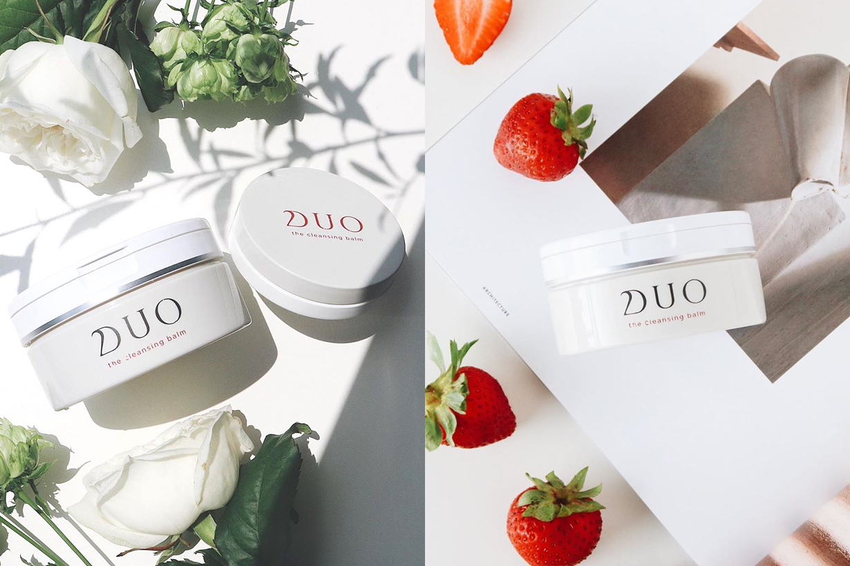 DUO The cleansing balm Makeup Remover face cleanser exfoliator massage cream treatment cream tightening pores blackheads remover japanese skincare best sellers cosme