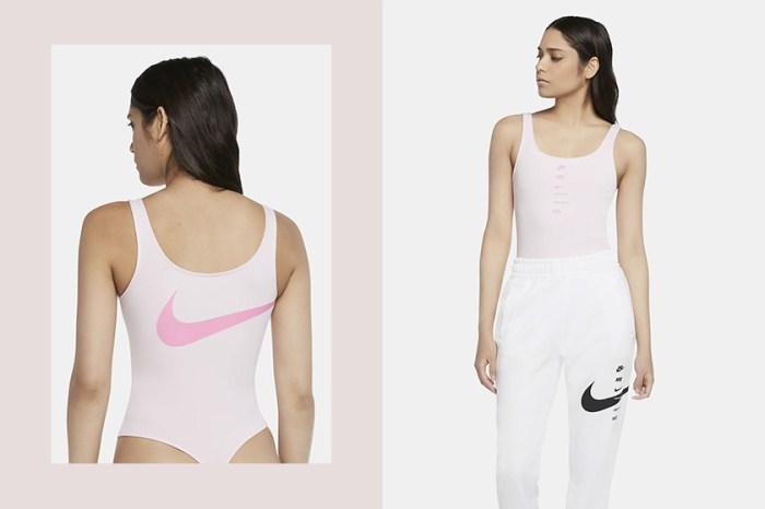 涼感+顯瘦:Nike 新上架粉嫩色 Bodysuit,再添一件人氣單品!