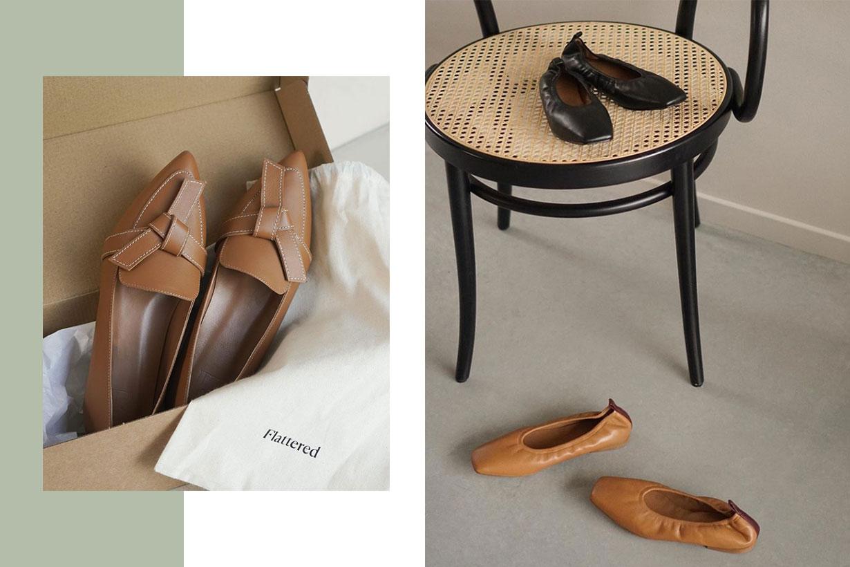 Scandinavian Shoe Label Flattered