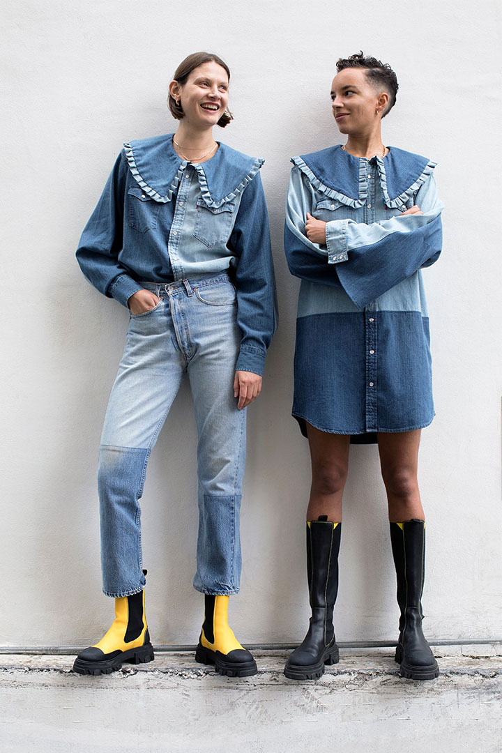 Ganni and Levi's Launch a Rental Denim Collaboration