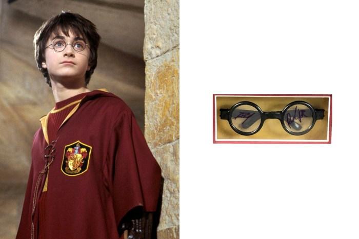 來自魔法世界的競標品:擁有 Daniel 簽名的 Harry Potter 眼鏡,猜猜預估價值…?