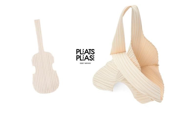 別出心裁之選,三宅一生 Pleats Please 把吉他變成了 Tote Bag 手袋!