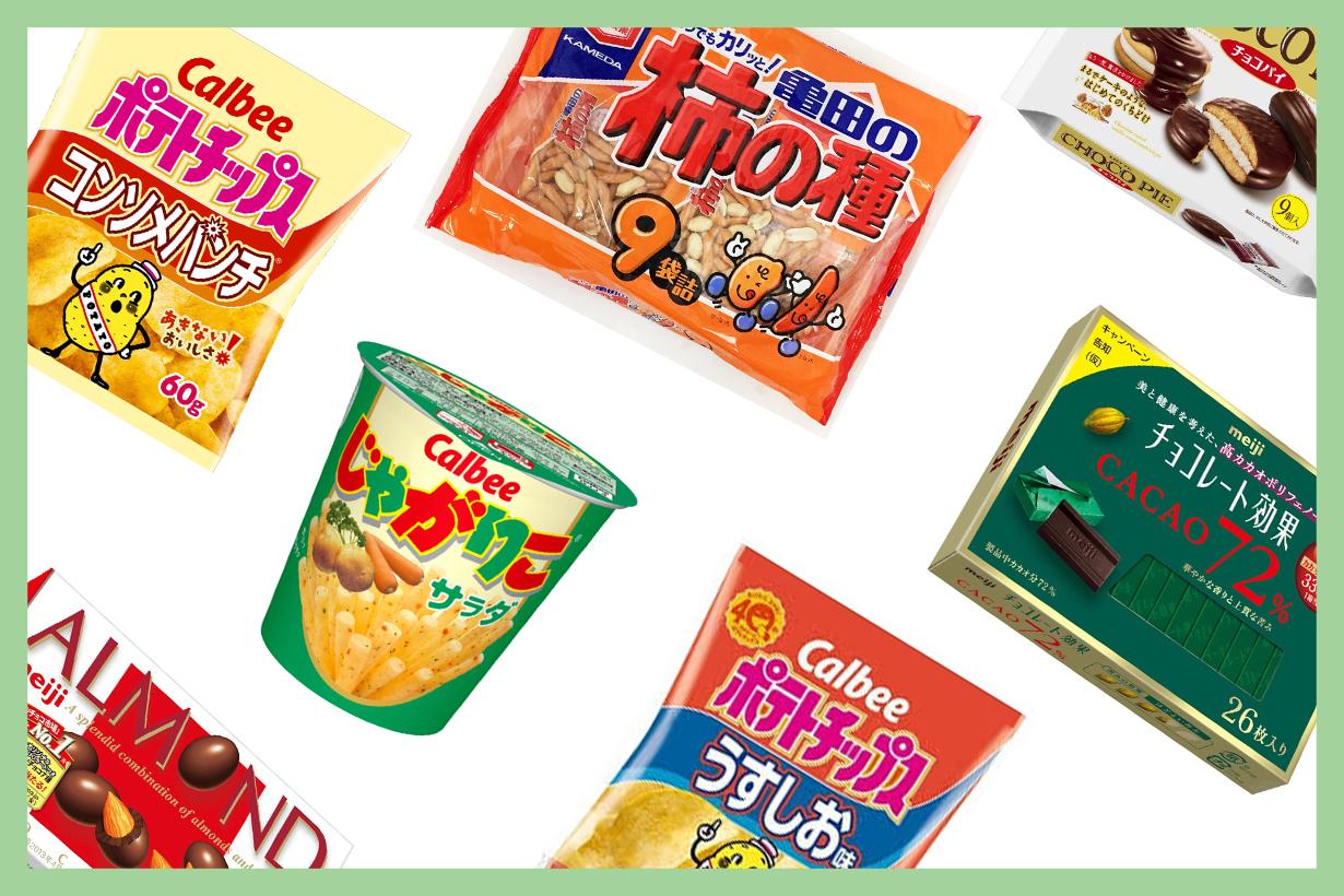 japan top 10 ranking snacks