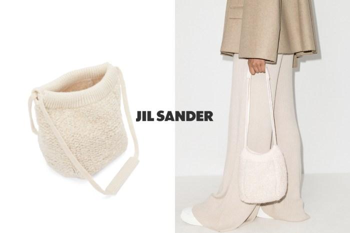 最療癒手袋:鎖定 Jil Sander 新羊毛針織水桶包,不入手會可惜的親民價!