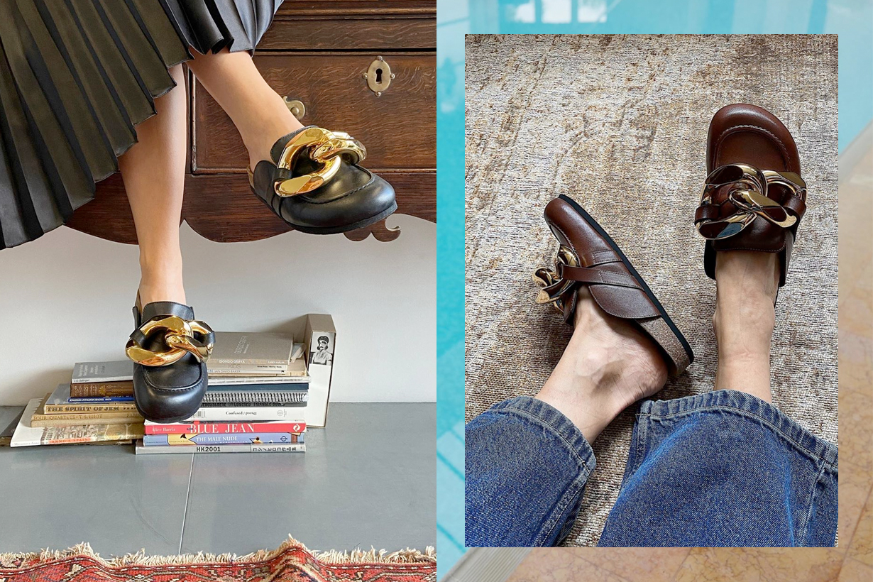 jw anderson chain loafer 2020 where buy price