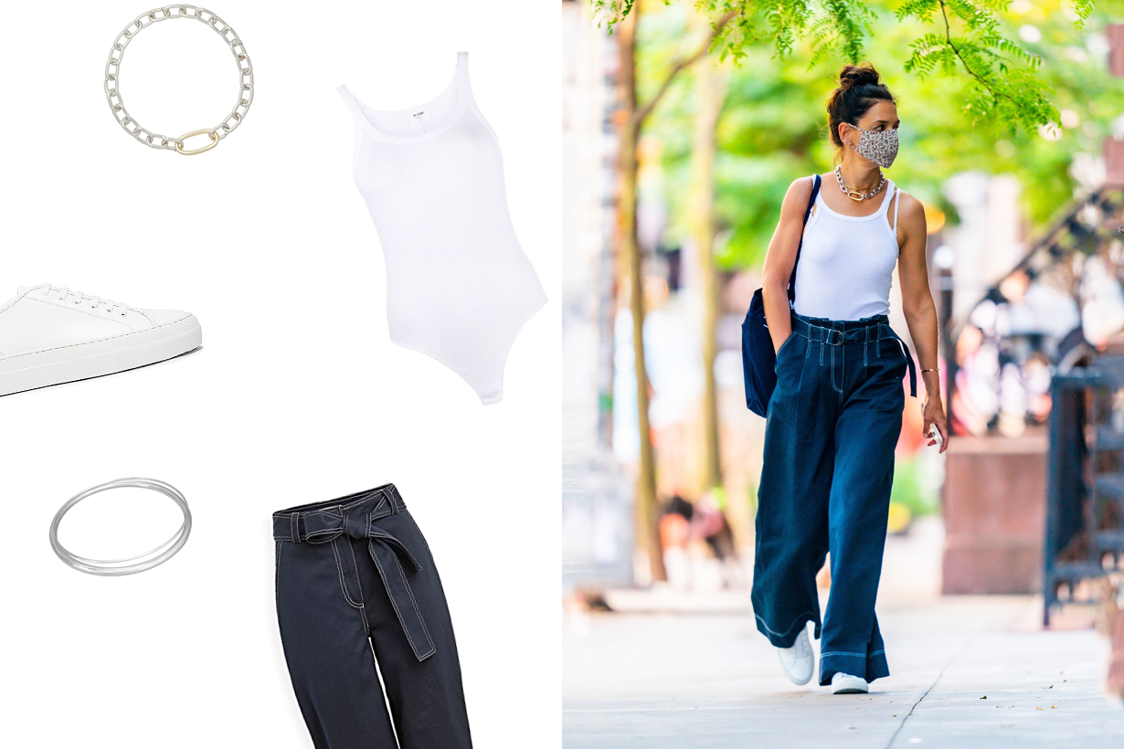 katie holmes simple stylish look casual tips summer 2020