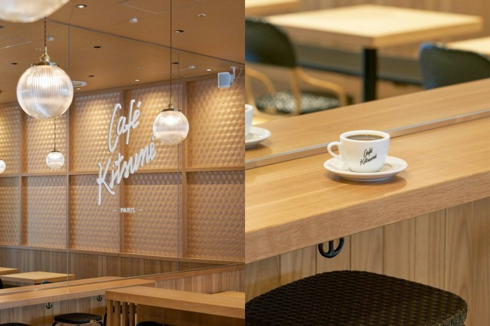 疫情後的旅遊清單:走進日本第 2 間 Café Kitsuné ,又是讓快門停不了的時髦空間!