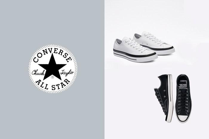 是什麼來頭,讓這兩雙乍看之下是黑、白基本款的 Converse 比其他款都貴?