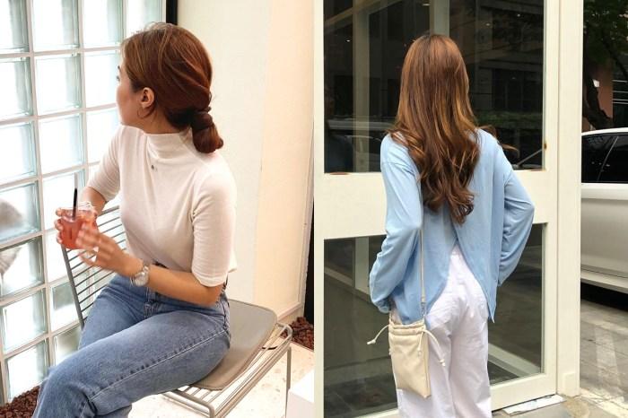 看似隨性卻有著這些心思!韓國女生們綁低髮髻的方法跟我們就有這樣差別!