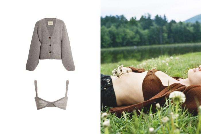 一小時售罄之後:簡約女生都愛的 Cashmere 開襟毛衣+內衣,不只補貨還推出更多新色!