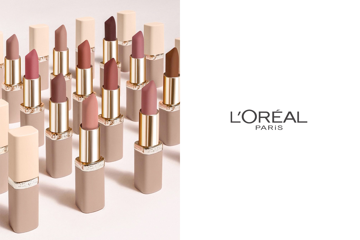 l'oreal beauty sustainable package plastic recycle 2025