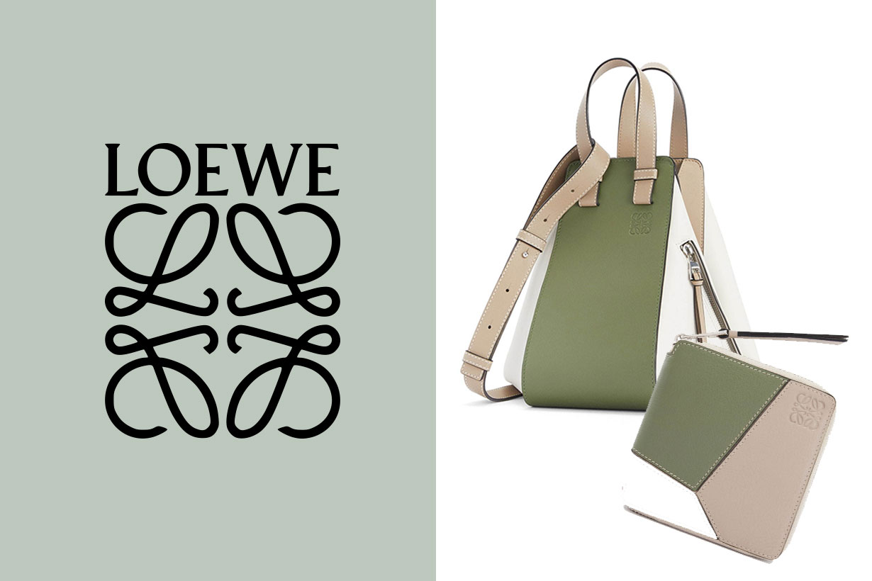 Loewe Fall 2020 Handbags Forest Color