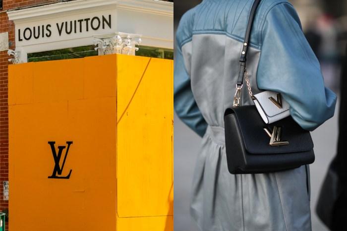 史上最高:光排隊就繞了兩圈… Louis Vuitton 上海旗艦店 8 月創下 US$220 萬業績!