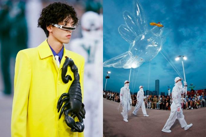 數不完的好玩亮點:Louis Vuitton 男裝秀帶來歡笑,更要重新定義「過季」!