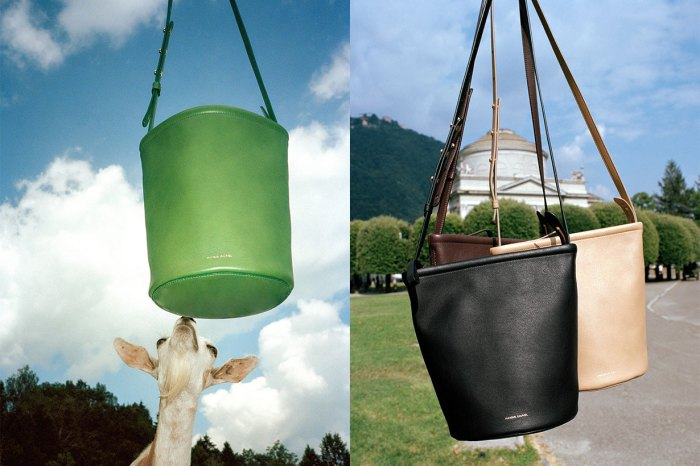 必成極簡控的新歡!Mansur Gavriel 改良人氣水桶包,加添拉鏈更加實用
