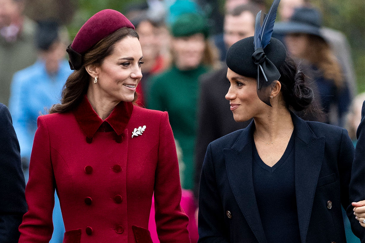 Meghan Markle and Kate Middleton's First Meeting