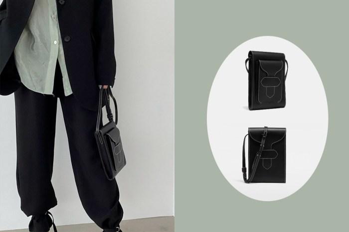 Maison Margiela 匿在男裝區的新手袋:雙面揹太吸引,完全是 Boyish Girl 必備!