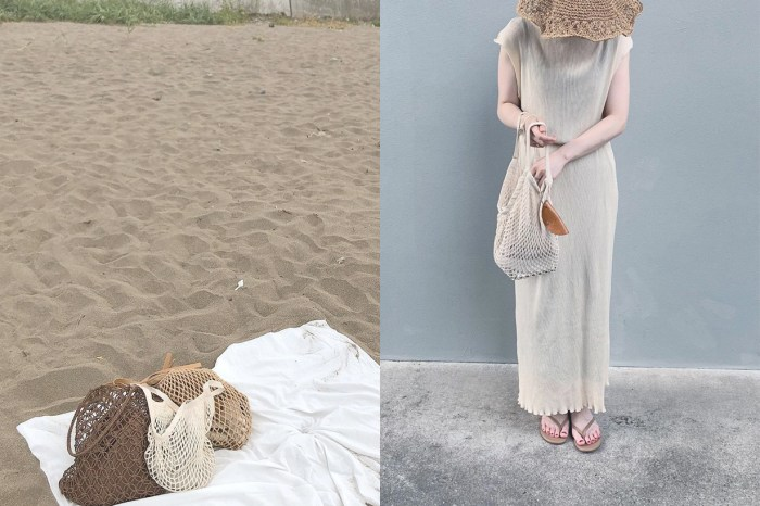 日本女生的夏季穿搭好物,竟是一只不用 JP¥800 的 MUJI 網袋!