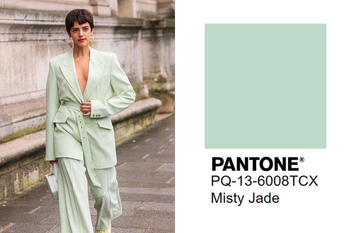 Pantone 2020 秋季 5 大流行色揭盅!快記下 Misty Jade 這種色調