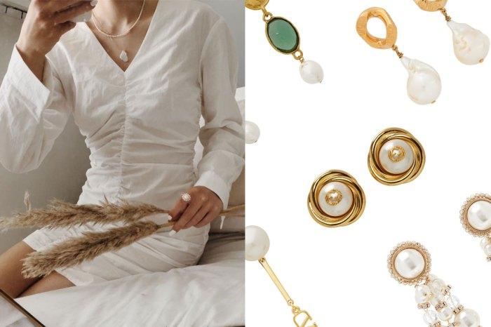 珍珠飾品人氣大漲 67%!從簡約到華麗風格,首飾架必備的 10+款式