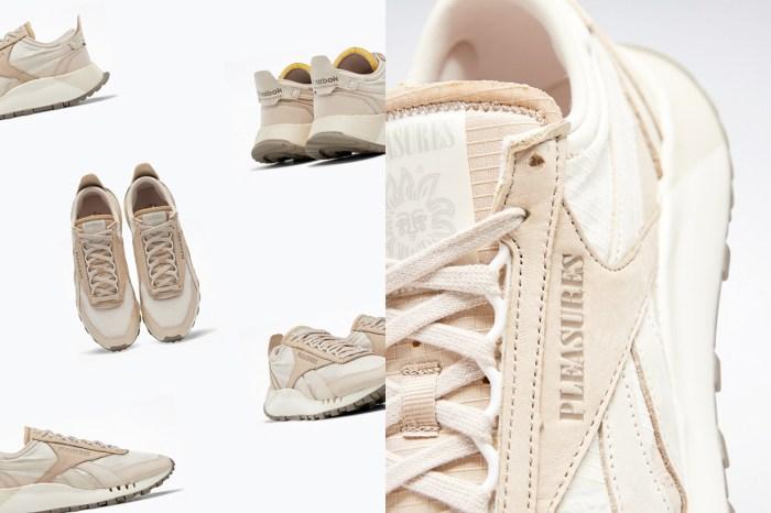 小眾入手款:Reebok x PLEASURES 拼接皮革的新波鞋,是永遠割捨不了的奶茶色!