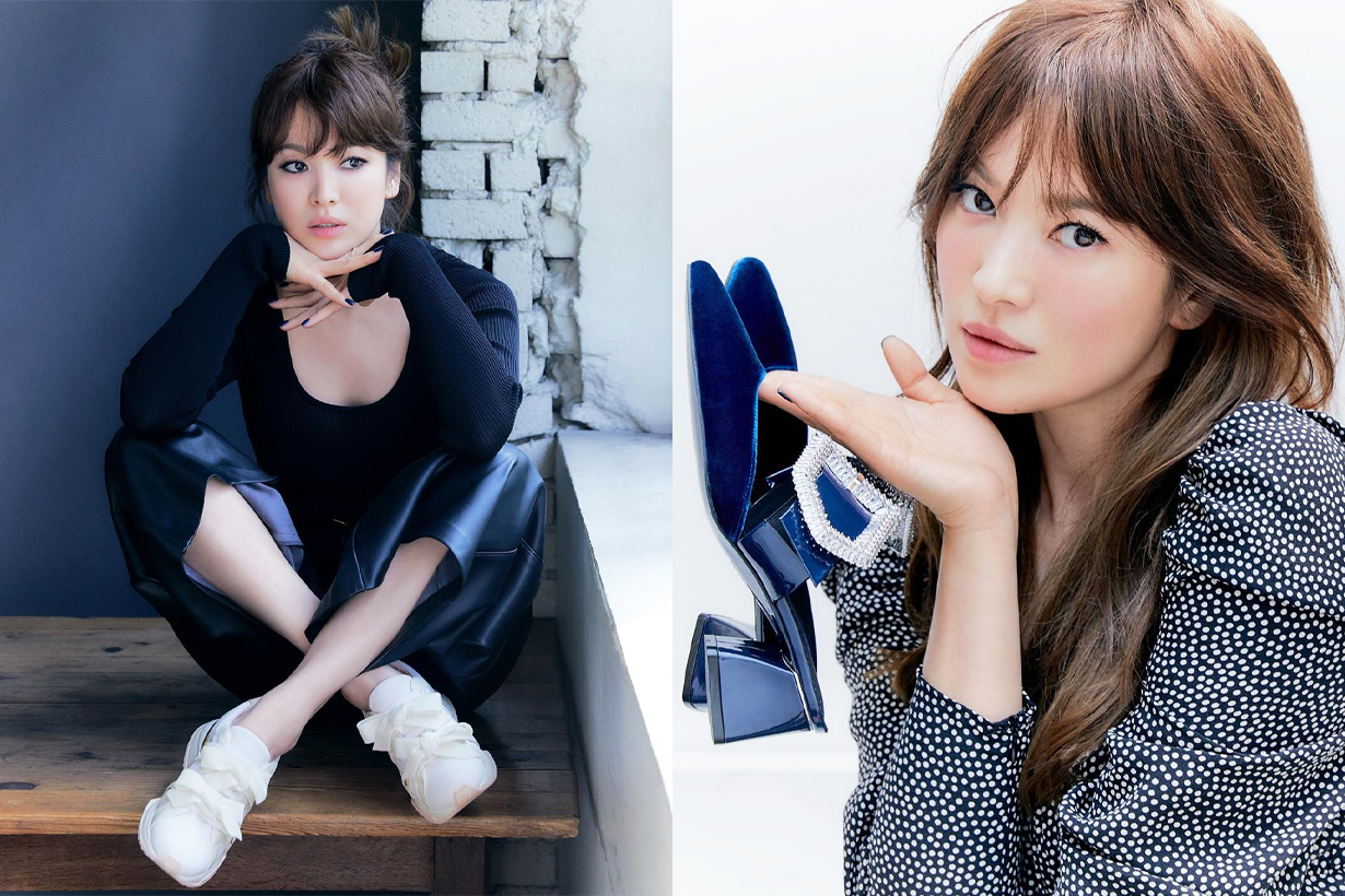 Song Hye Kyo Suecomma Bonnie 2020 Fall Winter Season Campaign Korean Idols celebrities actresses
