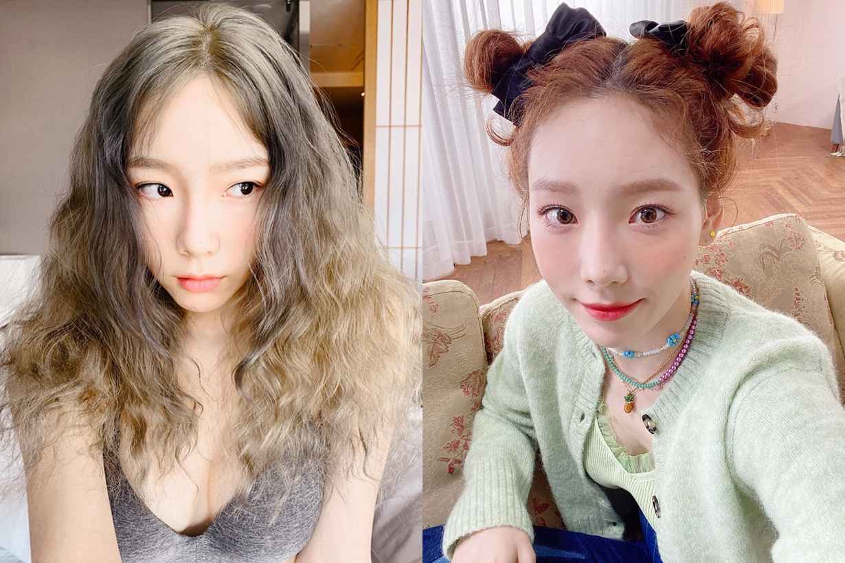 Taeyeon Kim Girls Generation Celebrities Skincare Tips Toner Essence Moisturizer Skincare Routine Korean idols celebrities singers girl bands