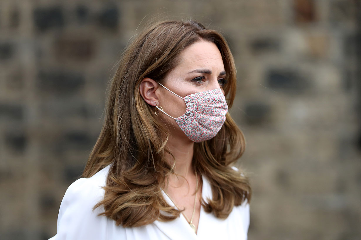 The Duchess of Cambridge causes spike in floral mask searches