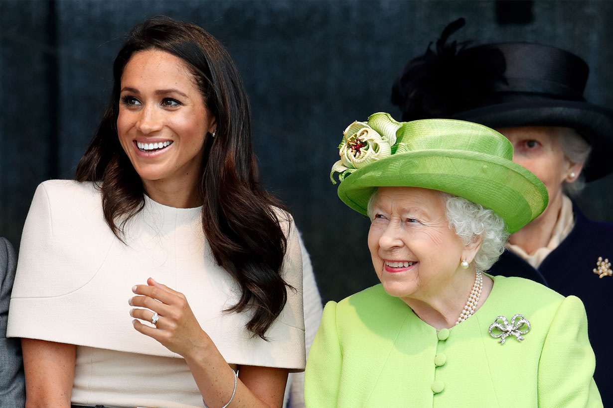 The Duchess of Sussex and the Queen never actually disagreed over her wedding day tiara