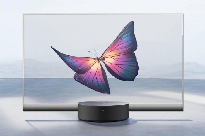 發表會一登場便引起討論,小米將推出全球第一台量產的「透明電視」!