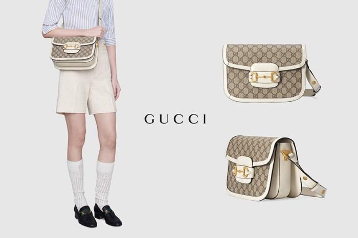 Gucci 1955 Horsebit 換上奶油白,絕美新色過渡到秋冬!