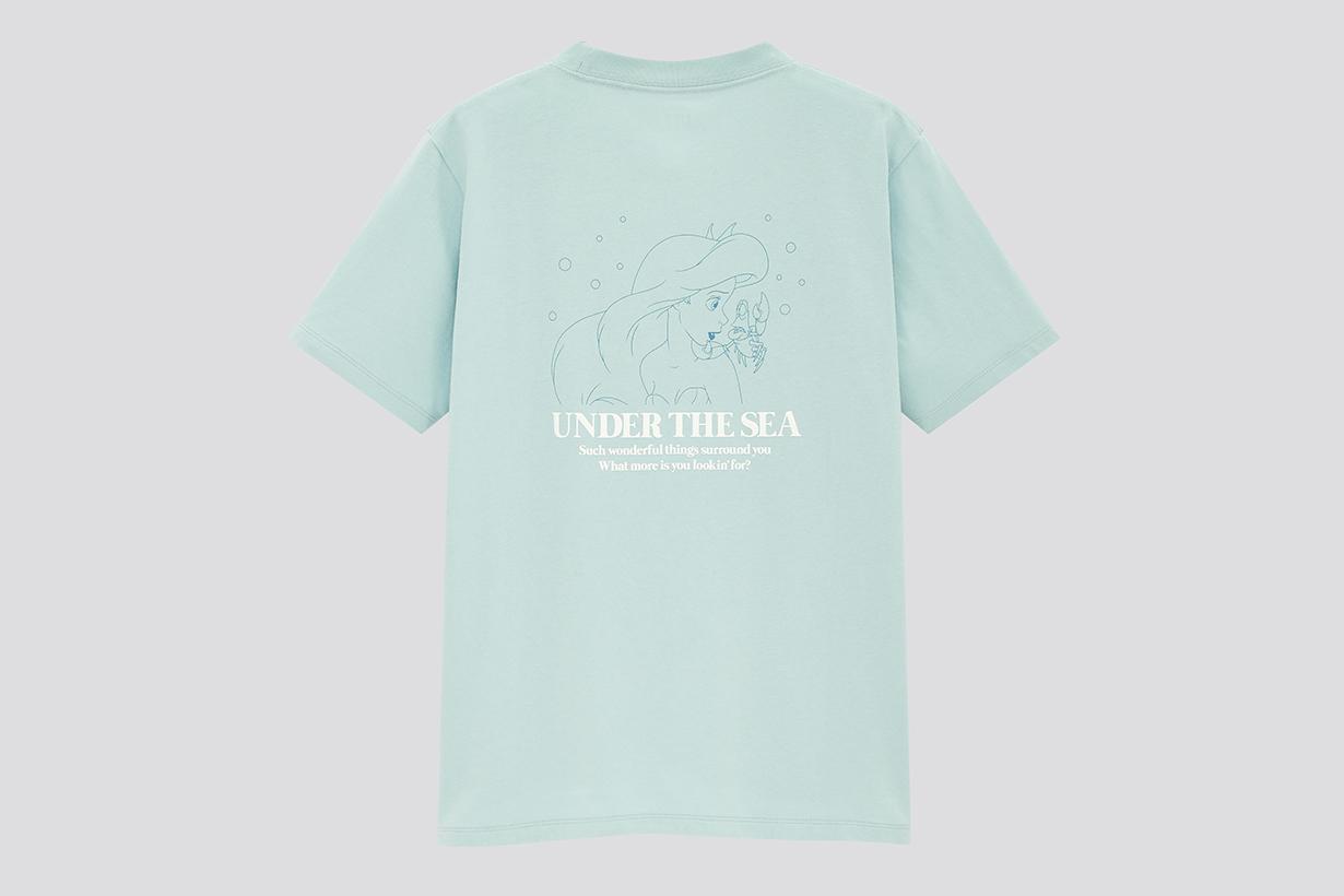 Uniqlo Disney Princess Songs UT collection