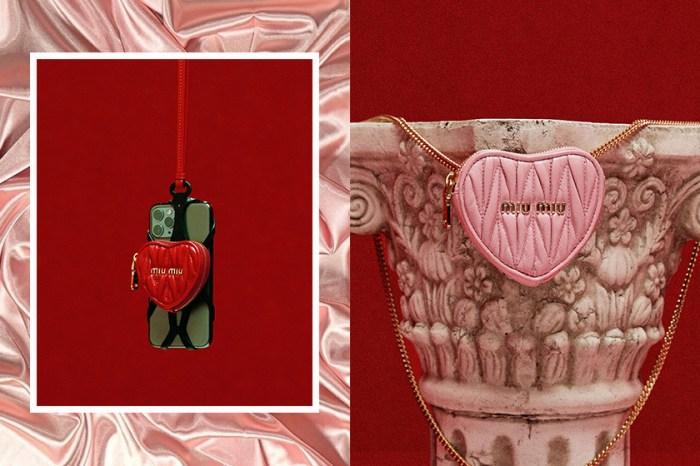 個性女人味:Miu Miu 心型銀包、手機套,怎能不惹人心動?