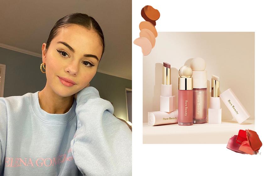 Selena Gomez Rare Beauty makeup brand Sephora