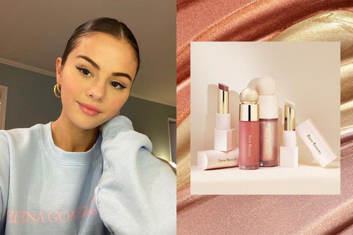 質感外型卻有平實價格:Selena Gomez 個人彩妝品牌「Rare Beauty」終於正式開售!